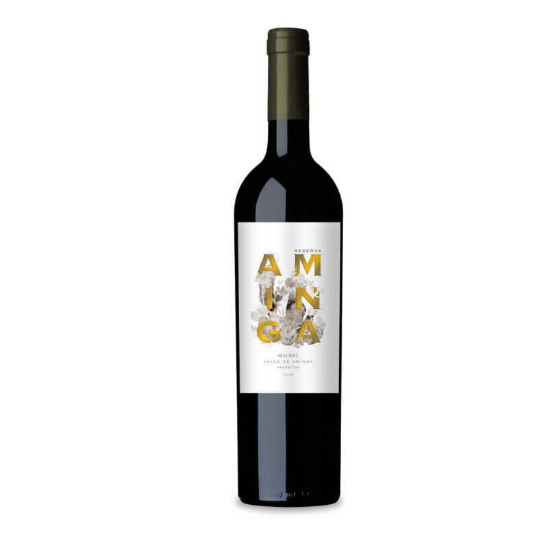 Vinho Argentino Aminga Estate Reserva Malbec 2018