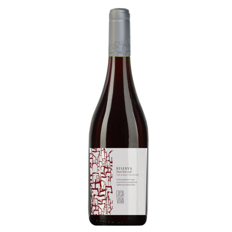 Vinho Chileno Casa Viva Reserva Pinot Noir 2018