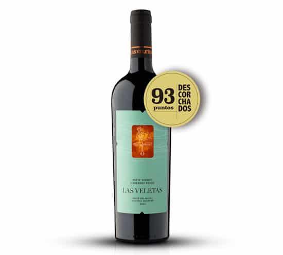 Vinho chilenos Tradition Petit Verdot Cabernet Franc 2017