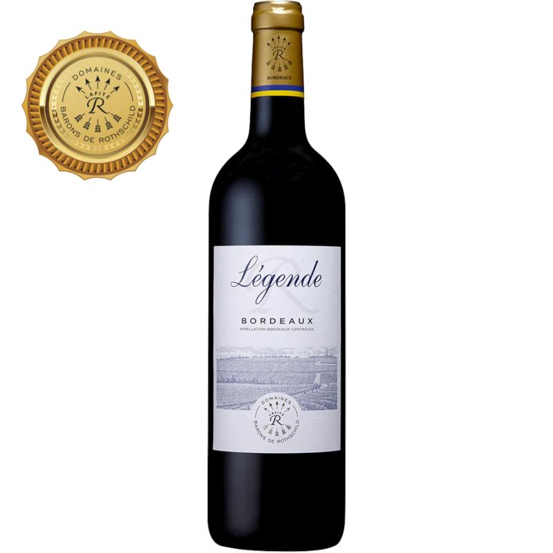 Légende Bordeaux Rouge Barons de Rothschild Lafite 2017