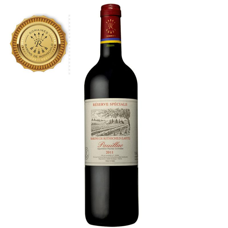 Réserve Spéciale Pauillac Barons de Rothschild Lafite 2011