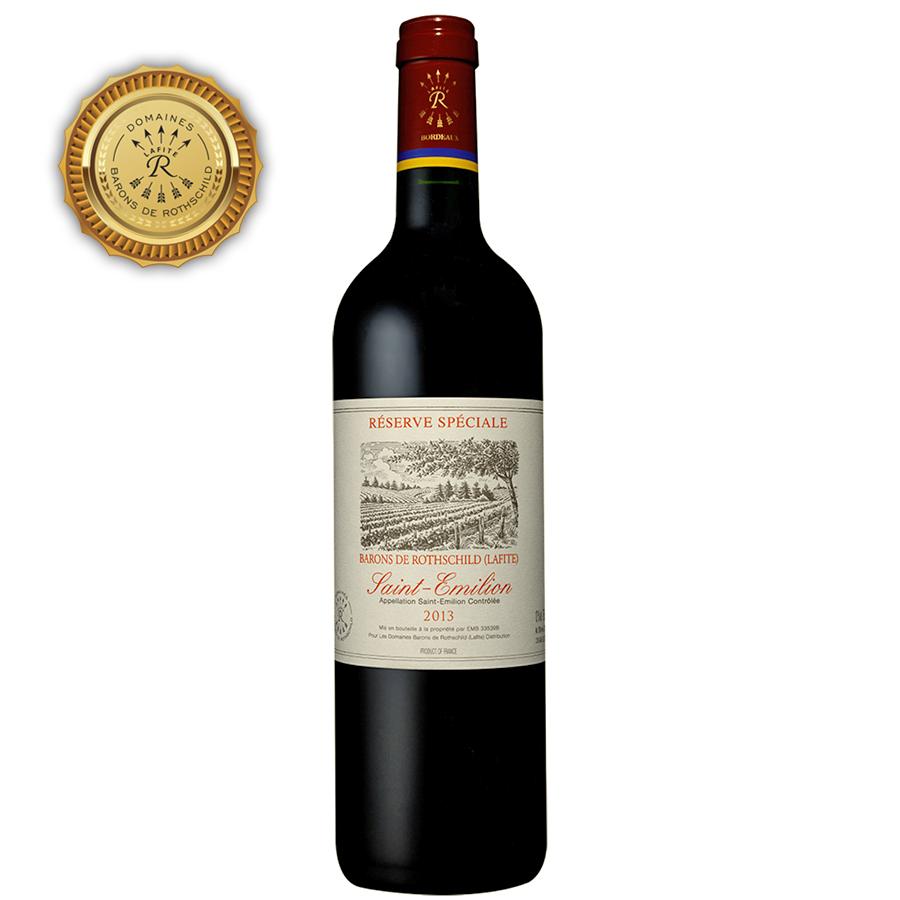 Réserve Spéciale Saint Emilion Barons de Rothschild Lafite 2013