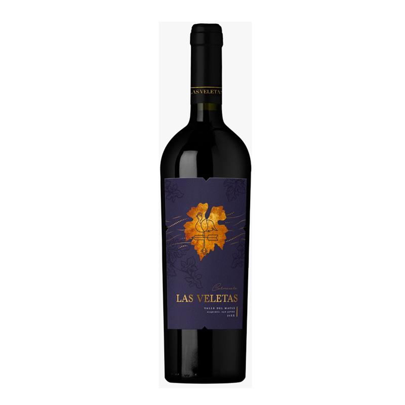 Vinho chileno Las Veletas Estate Carmenere 2017