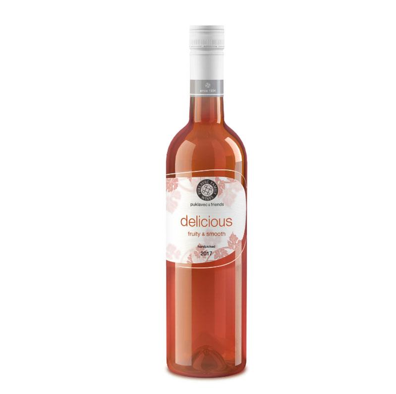 Vinho Rosé Puklavec Delicious