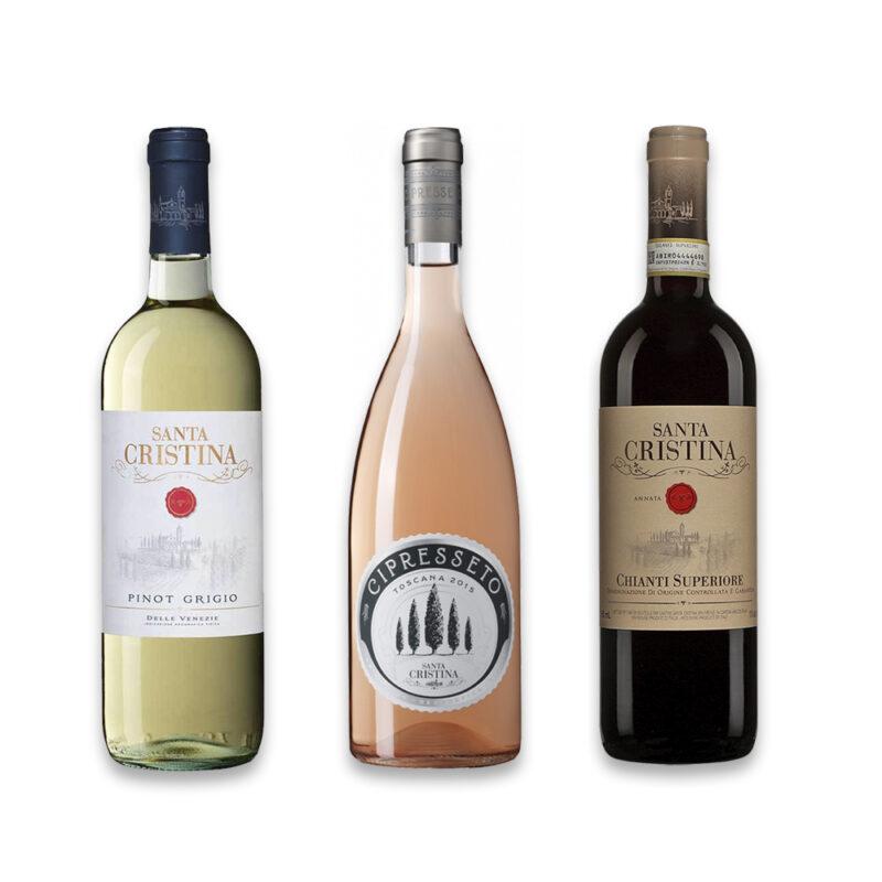 Trio Antinori Santa Cristina
