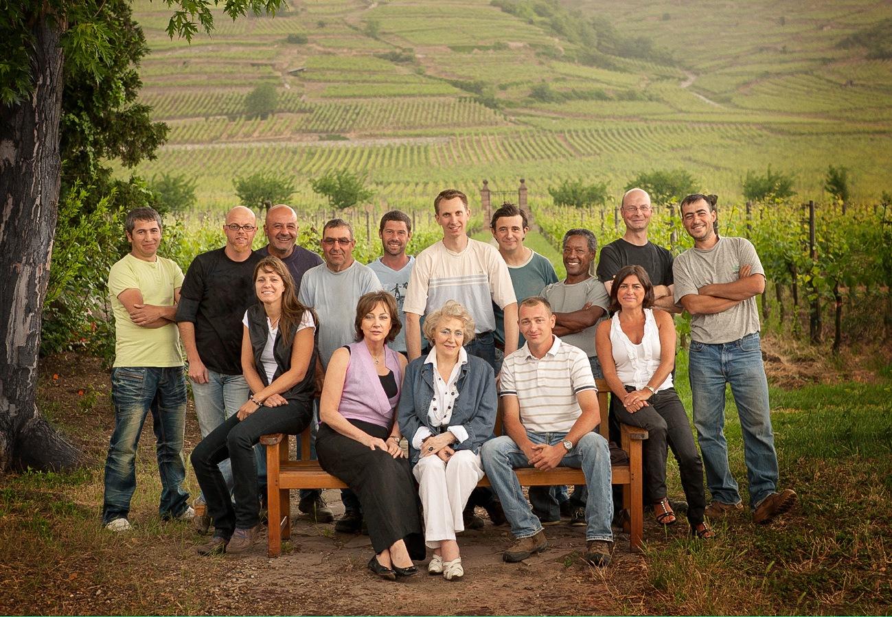 A família e amigos Weinbach