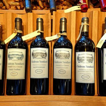 Investir e armazenar vinhos