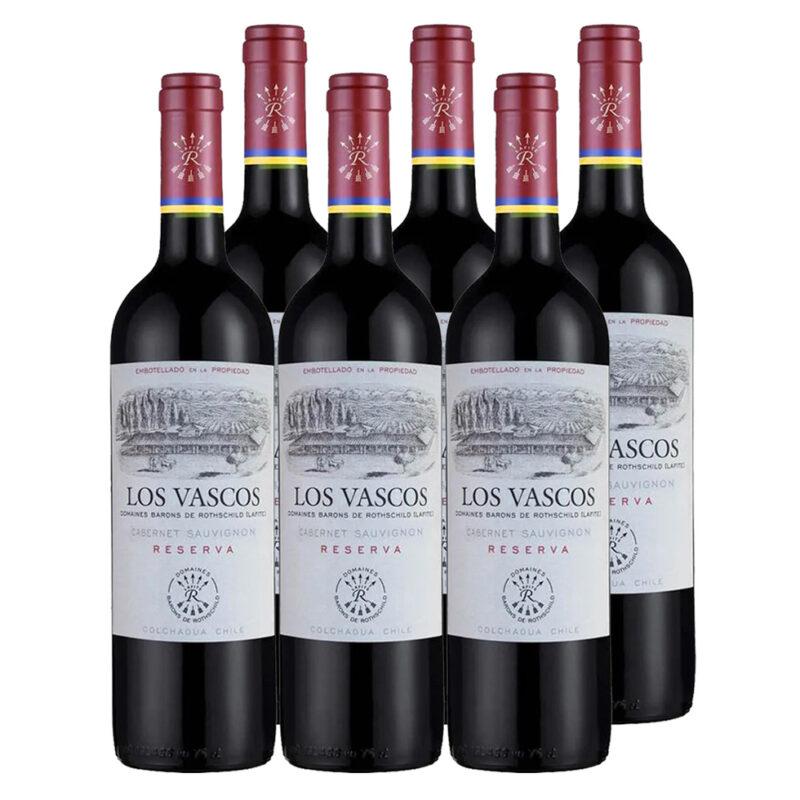 Kit 6 Unidades – Los Vascos Reserva 2018