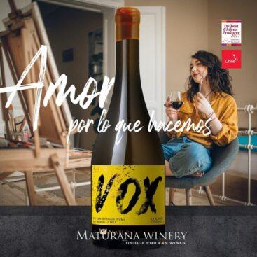 Maturana Wines VOX Viogner Oxidado 2019