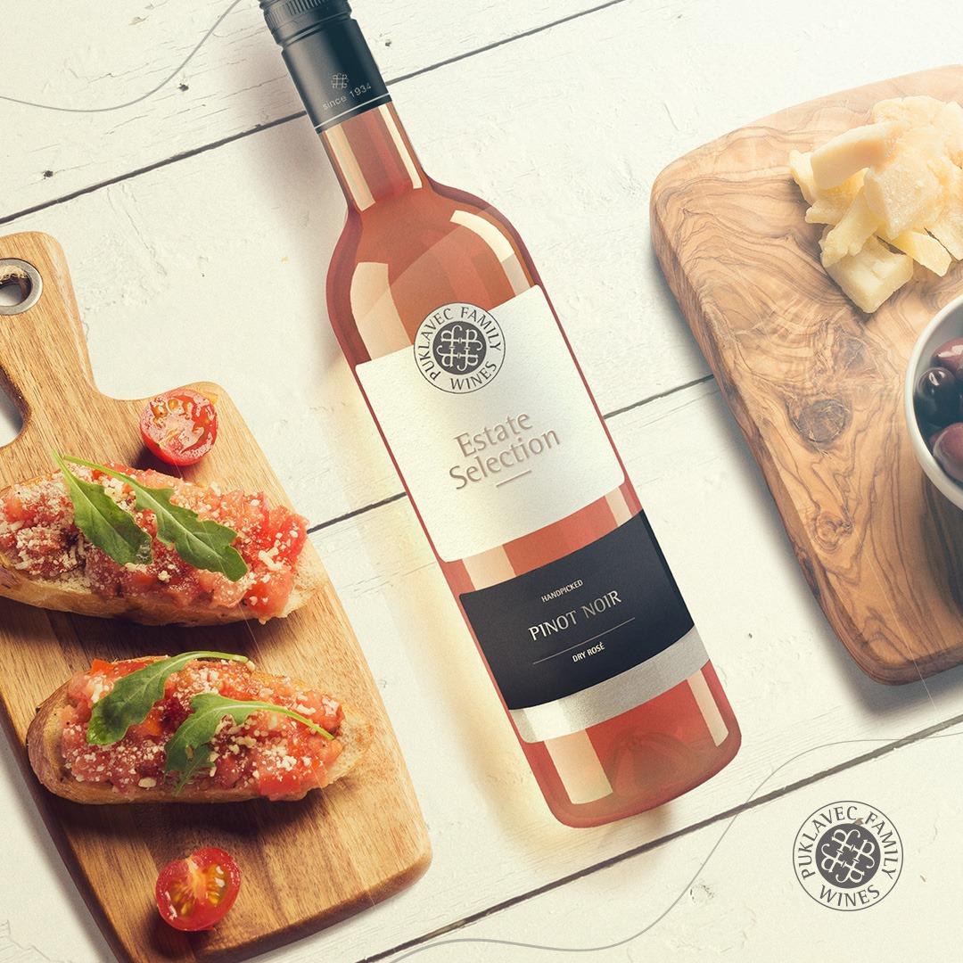Puklavec Pinot Noir Rose