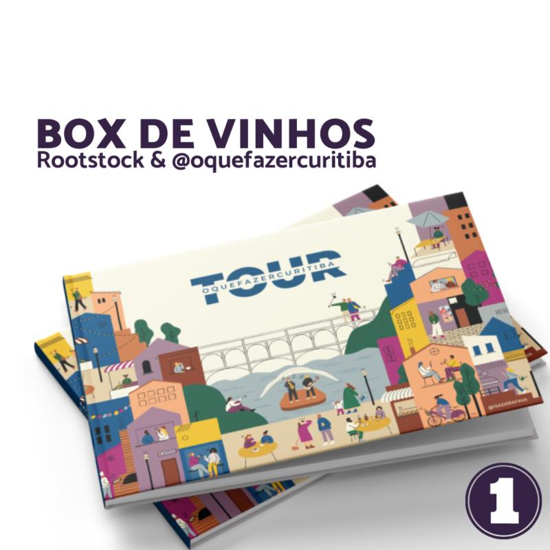 O que Fazer Curitiba Box de Vinhos I