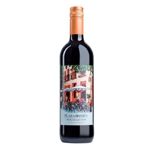 Vinho Tinto Espanhol Tempranillo Plaza Bonita