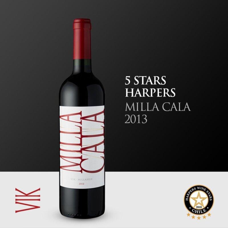 VIK Millahue 2013 Harpers Wine Stars